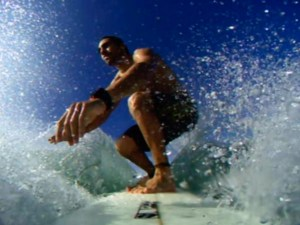 I love surfing